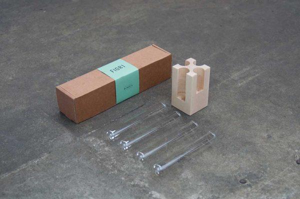 Figr1 Wooden Block 4 Hard Maple packaging