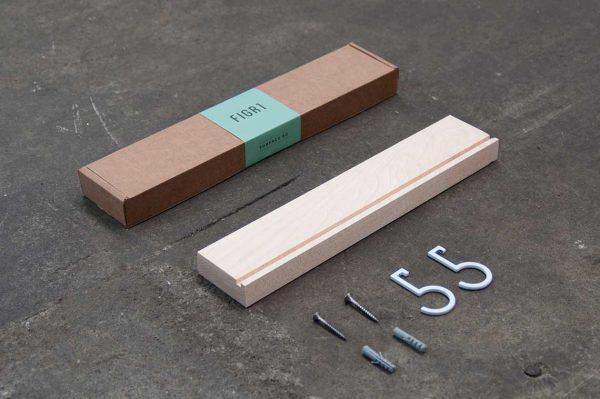 Figr1 Wooden Wall Shelf 30 Hard Maple Packaging
