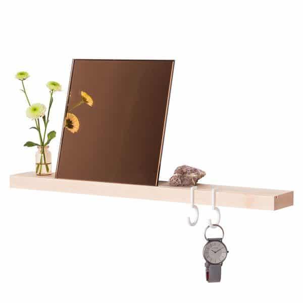 Figr1 Wooden Wall Shelf 50 Hard Maple